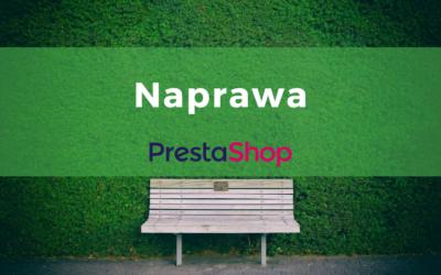 Naprawa PrestaShop – biała strona i inne problemy