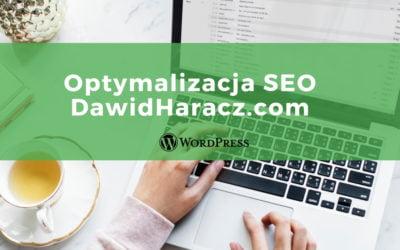 Optymalizacja bloga – dawidharacz.com