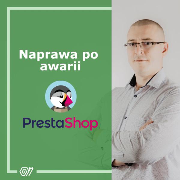 Naprawa po awarii - PrestaShop