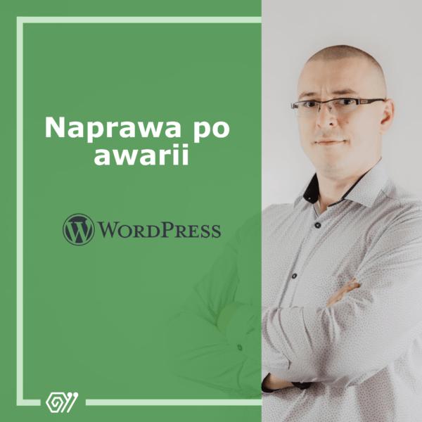 Naprawa po awarii - WordPress